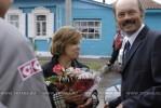 Ирина Роднина в Таре, 2007 год